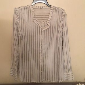 Old navy long sleeve button down size XL
